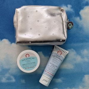 BNIB First Aid Beauty Bundle- cleanser and pads